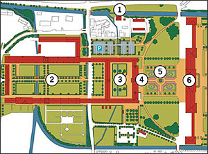 Picture: section of the park plan