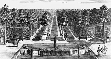 "Picture: Engraving ""Cascade and pall mall alley"""