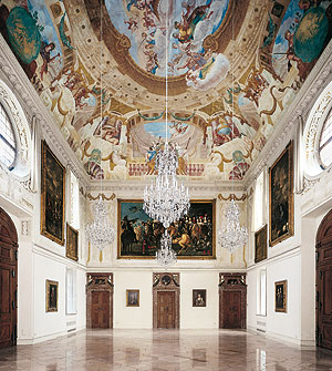 Picture: Lustheim Palace, Banqueting Hall