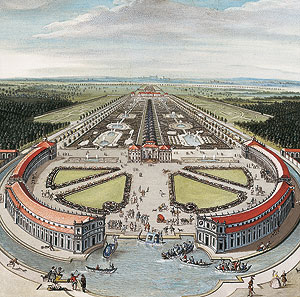Picture: Idealized view of Lustheim Palace