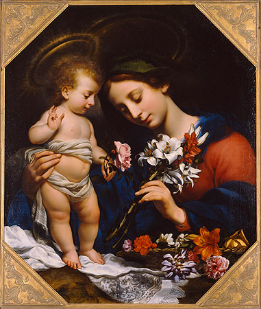 Picture: Madonna and Child, Carlo Dolci